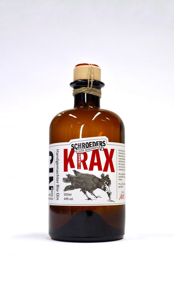 Krax Bio Gin aus Schroeders Manufaktur