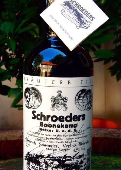 Zu kühlem Bier und gutem Essen Schroeders Boonekamp nicht vergessen!